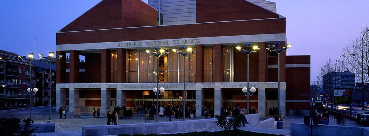 Auditorio Nacional de Música Ciclo sinfónico de la Orquesta y Coro de la Comunidad de Madrid