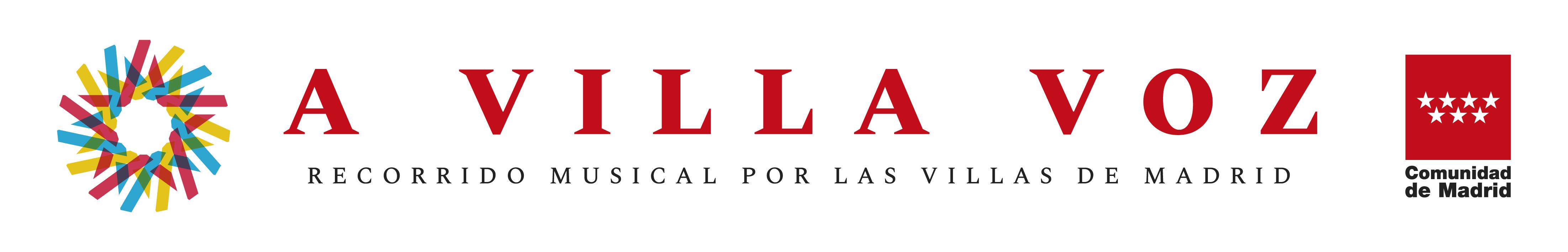 Imagen del título del ciclo A Villa Voz del Coro de la Comunidad de Madrid en las 11 Villas de Madrid