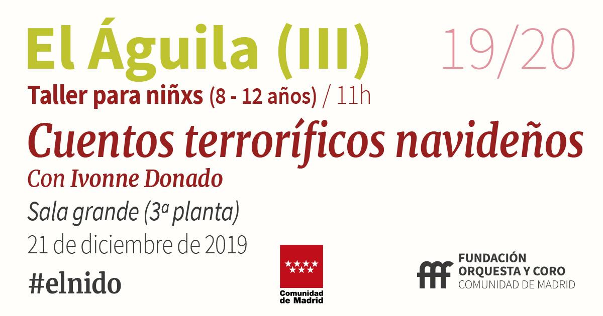 imagen del taller Cuentos terroríficos navideños Orquesta y Coro de la Comunidad de Madrid