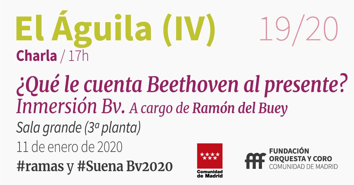 imagen de la charla Inmersión Bv Orquesta y Coro de la Comunidad de Madrid