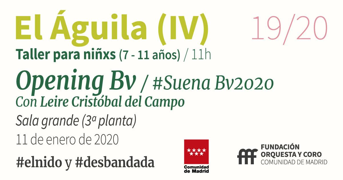 imagen del taller Opening Bv Orquesta y Coro de la Comunidad de Madrid