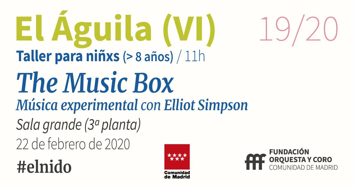 imagen del taller Music Box Orquesta y Coro de la Comunidad de Madrid