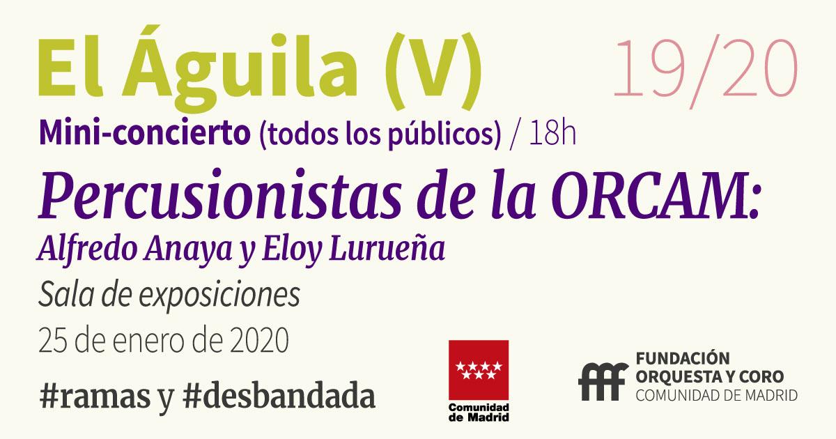 imagen del mini-concierto 25 enero Orquesta de la Comunidad de Madrid
