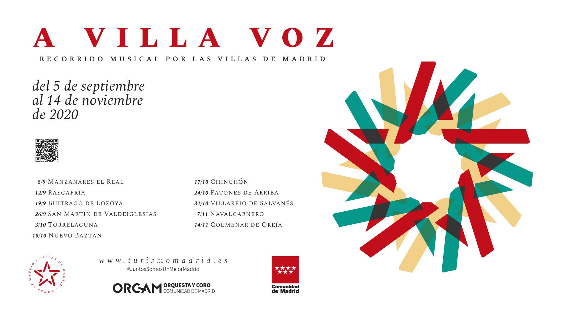 Cartel HD A Villa Voz 2020