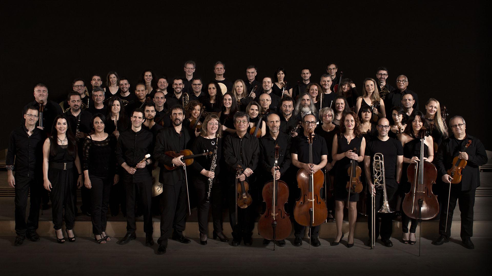 Foto general de la Orquesta de la Comunidad de Madrid